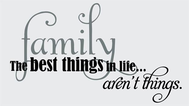 Family Quotes & Sayings On Life | Family The Best Things Intended For Family Sayings Wall Art (Image 8 of 20)