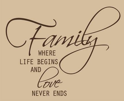 Family Quotes & Sayings On Life | Family Wall Art With Regard To Family Sayings Wall Art (Image 9 of 20)