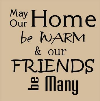 Family Quotes & Sayings On Life | Wall Decals & Stickers, Home Be Warm Within Family Sayings Wall Art (Image 11 of 20)