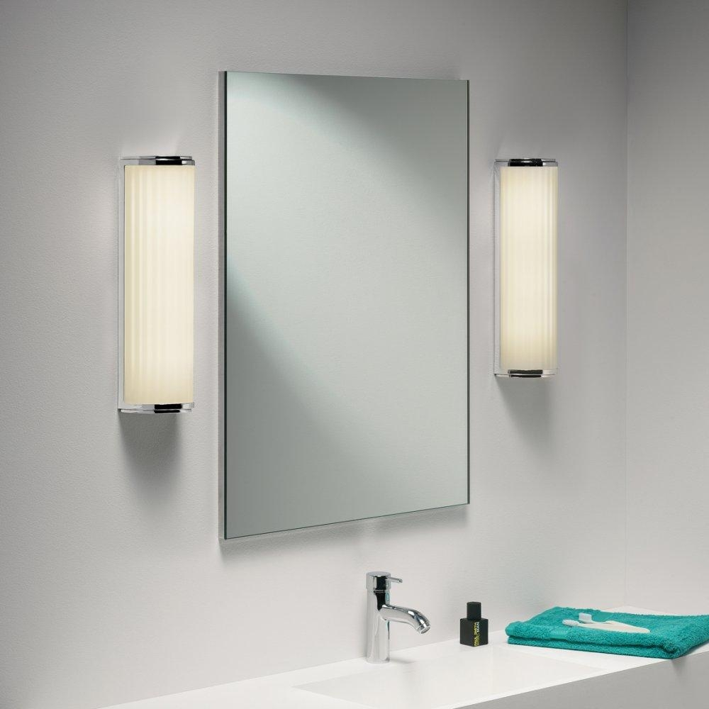 Fancy Idea Lights For Bathroom Mirror Mirrors In With Light Over With Lights For Bathroom Mirrors (Image 12 of 20)
