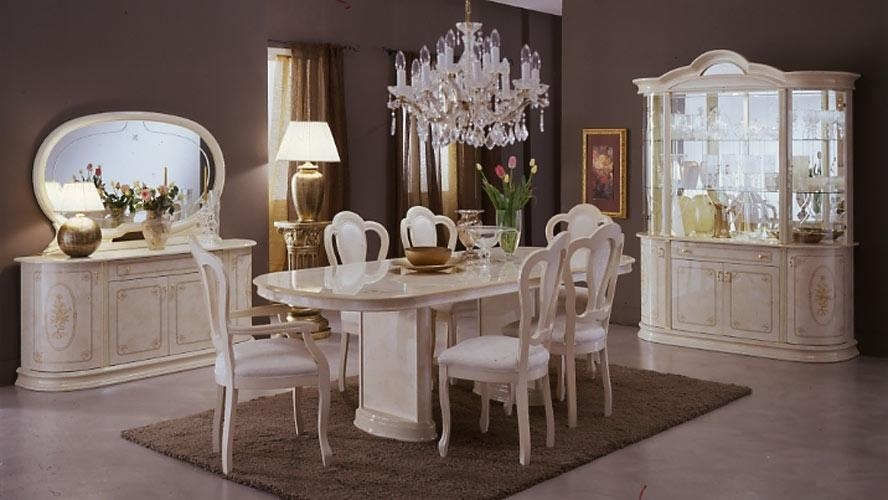 Fantastic Italian Dining Table With Italian Dining Room Furniture Regarding Most Current Italian Dining Tables (Image 6 of 20)