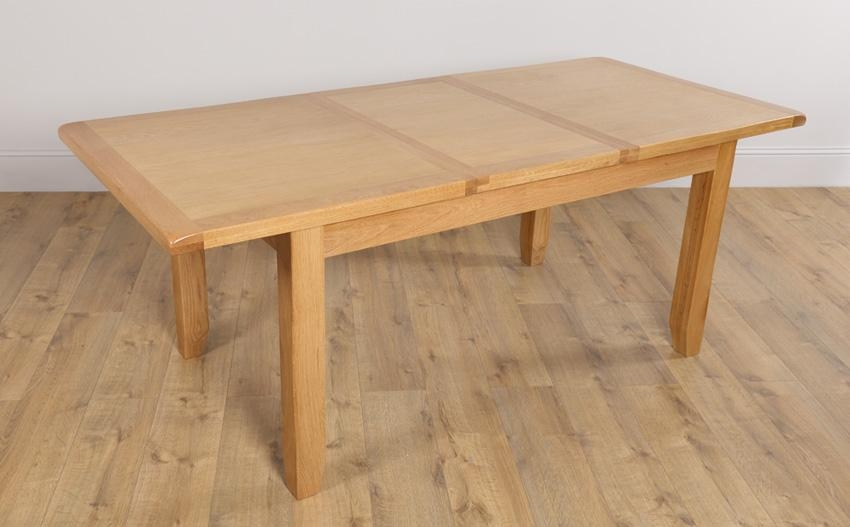 Fantastic Oak Extendable Dining Table Clifton Extending Dining Regarding Current Oak Extending Dining Sets (Image 7 of 20)