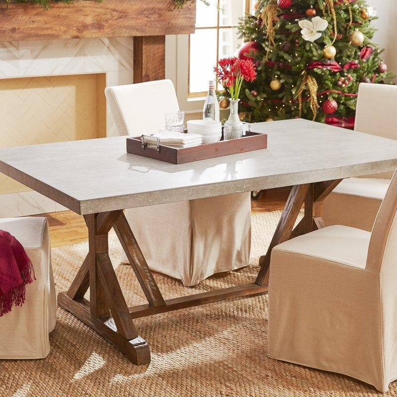 Farmhouse Dining Tables | Birch Lane With Recent Dining Room Tables (Image 12 of 20)