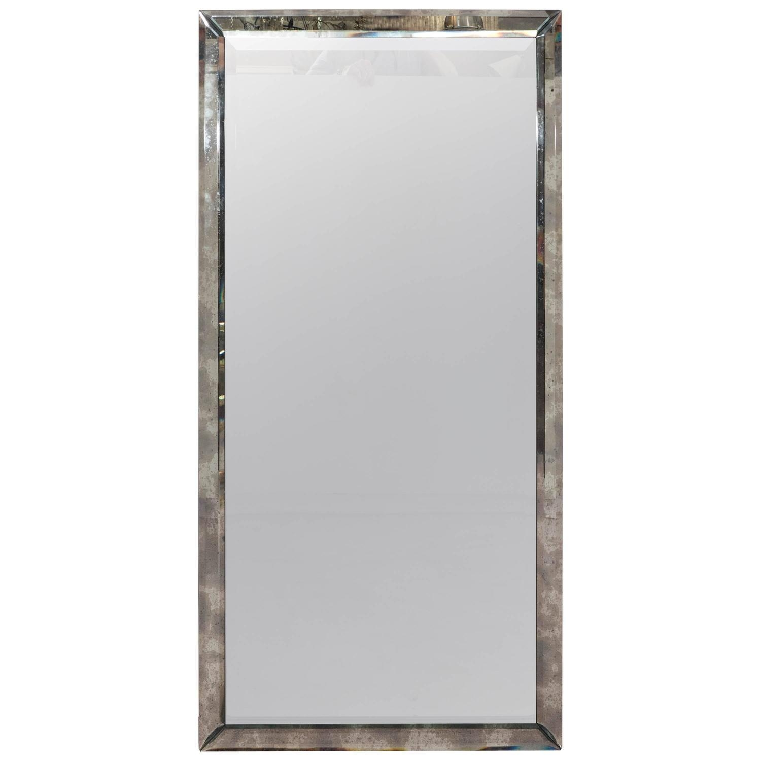 Fascinating 50+ Long Wall Mirrors Design Decoration Of Long Wall With Long Rectangular Mirrors (Image 7 of 20)