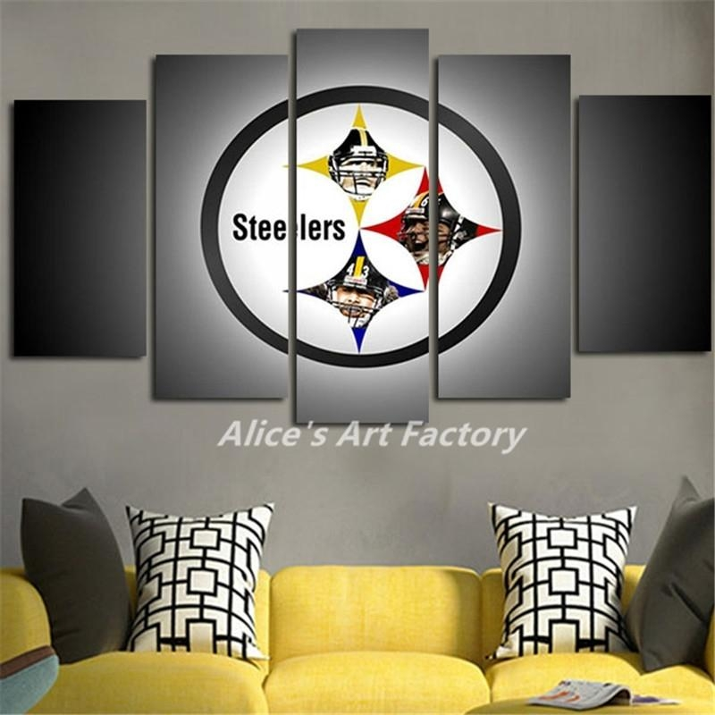 Fascinating 70+ Steelers Wall Art Decorating Design Of Wall Throughout Steelers Wall Art (Image 5 of 20)