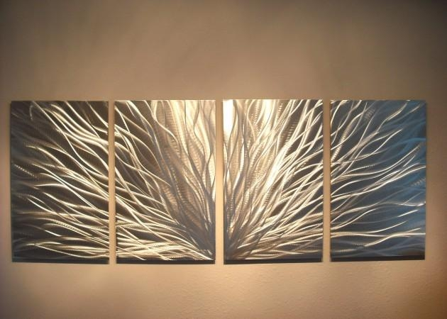 Fascinating Handmade Metal Wall Art Pieces Throughout Diy Metal Wall Art (Image 15 of 20)