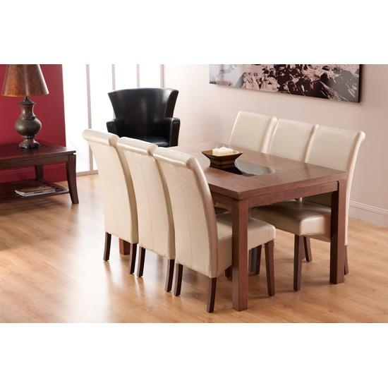 Fascinating Walnut Dining Table And 6 Chairs 97 About Remodel Within 2017 Walnut Dining Tables And 6 Chairs (Image 11 of 20)