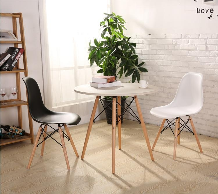 Fashion Simple Plastic Creative Leisure Coffee Plastic Tables For Most Recent Stylish Dining Chairs (Image 13 of 20)