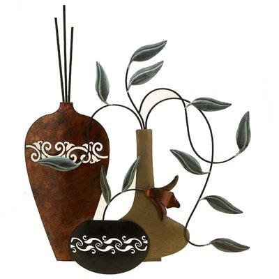 Fetco Home Decor Paulina Vases Wall Art | Shop Your Way: Online Throughout Fetco Home Decor Wall Art (Image 12 of 20)