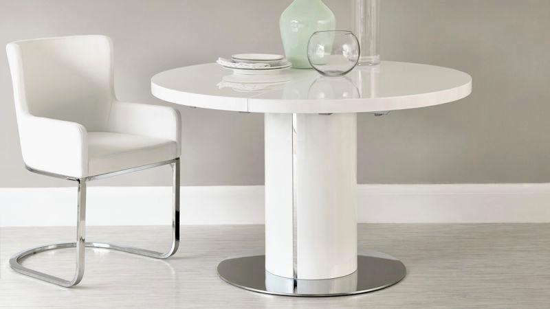 Finest White Gloss Dining Table 140Cm Décor | Table Decor And Within Latest White Gloss Dining Tables 140Cm (Image 9 of 20)