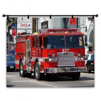 Fire Truck Wall Art | Murals | Canvas Wraps Throughout Fire Truck Wall Art (View 15 of 20)