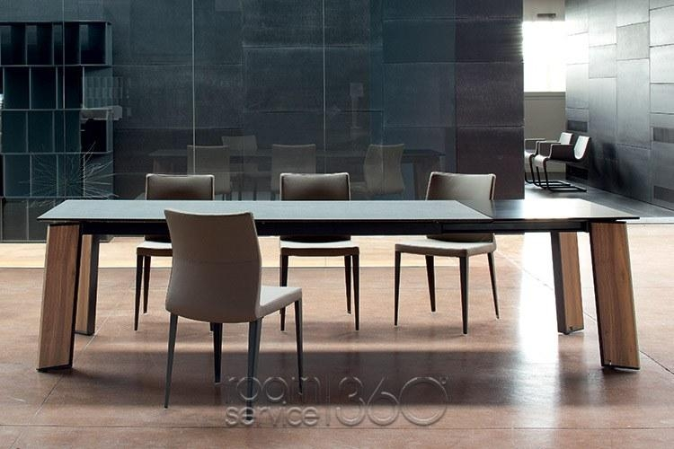 Flag Designer Modern Italian Dining Tablebonaldo – Made In Italy Throughout Latest Italian Dining Tables (Image 7 of 20)