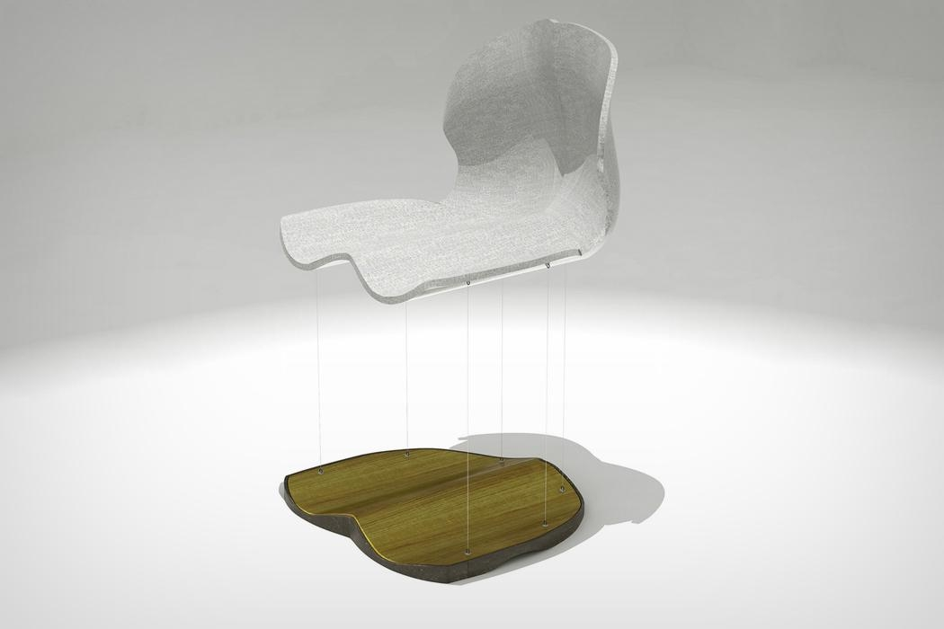 Floating Ferromagnetic Furniture | Yanko Design Throughout Magnetic Floating Sofas (Image 11 of 20)
