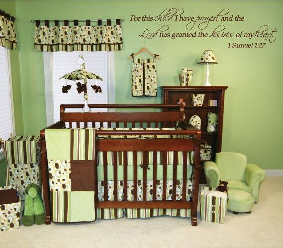 For This Child I Have Prayed 1 Samuel 1:27 Custom Nursery Pertaining To For This Child I Prayed Wall Art (View 20 of 20)
