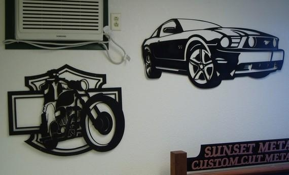 Ford Mustang Metal Wall Art For Ford Mustang Metal Wall Art (Image 13 of 20)
