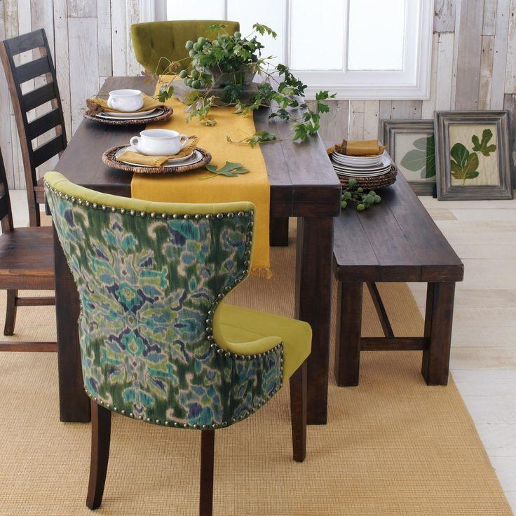 Francine Dining Table | Bench, Dining Bench And Apartment Living With Regard To Recent Glasgow Dining Sets (Image 12 of 20)