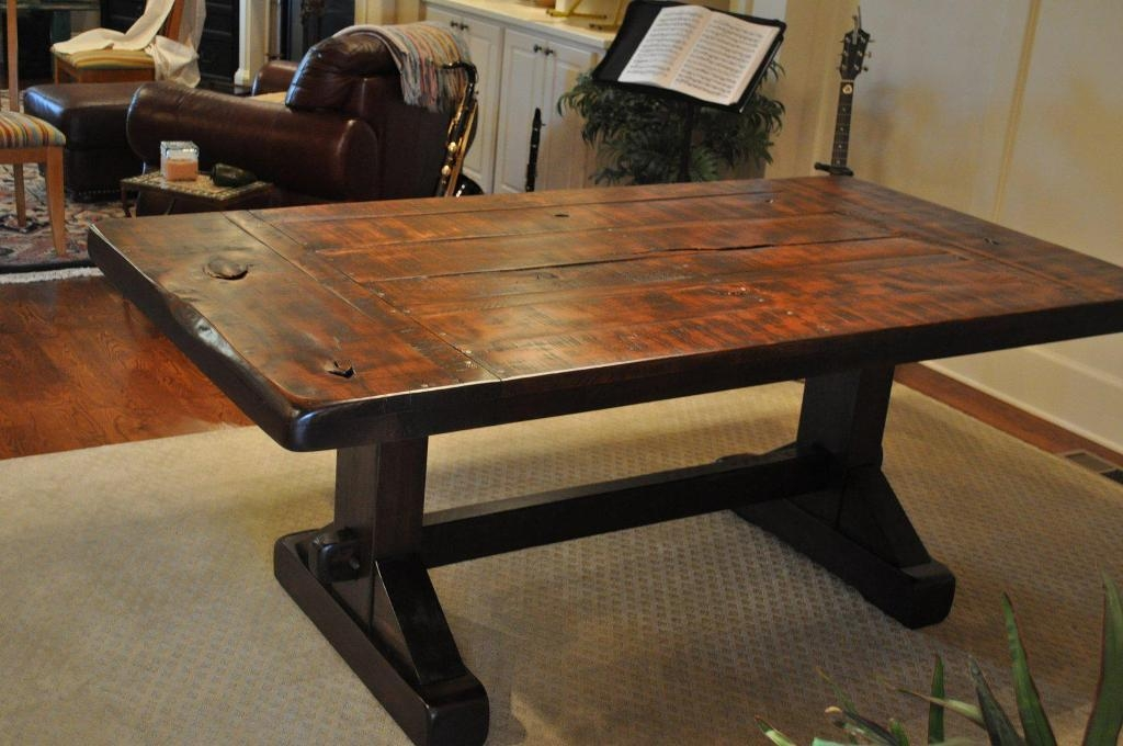 French Country Rustic Scroll Farmhouse Dining Table | Best Tables With Regard To Most Up To Date French Farmhouse Dining Tables (Image 9 of 20)