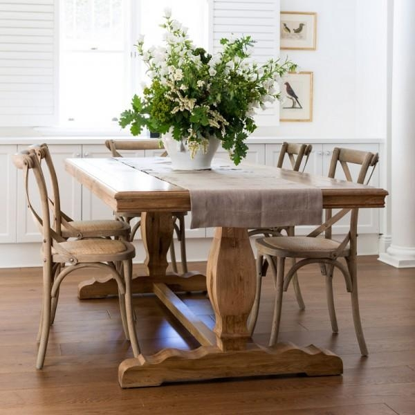 French Farmhouse Dining Table Within Most Current French Farmhouse Dining Tables (Image 13 of 20)