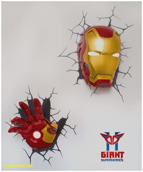 Fresh 3D Wall Art Night Light – Lacoopweedon Throughout The Avengers 3D Wall Art Nightlight (View 7 of 20)