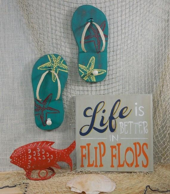 Fresh Flip Flop Wall Art | About My Blog Within Flip Flop Wall Art (Image 14 of 20)