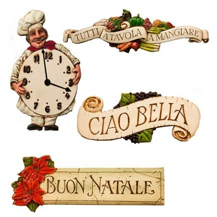 Fresh From The Artist! New Italian And Tuscan Décor Items In Italian Plaques Wall Art (Image 10 of 20)
