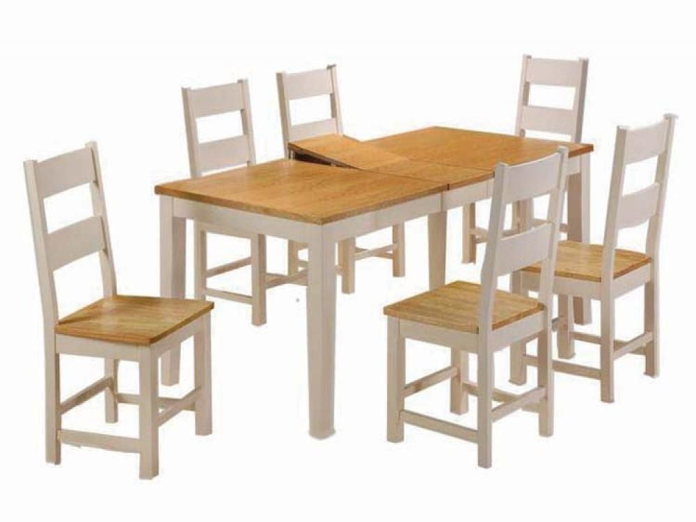 Fresh Oak Dining Table And Bench Sets #26276 Intended For Recent Cream And Oak Dining Tables (View 16 of 20)