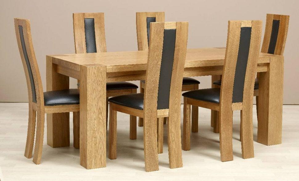 Furniture Home : Dining Room Tables And Chairs Sets Richardmartin With Most Up To Date Second Hand Oak Dining Chairs (Image 7 of 20)