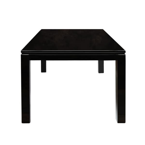 Furniture Of America Davao High Gloss Lacquer Contemporary 60 Inch Inside 2018 Black High Gloss Dining Tables (Image 12 of 20)