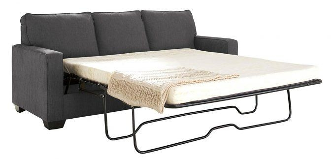 Furniture: Sleeper Sofa With Memory Foam Mattress For Cozy Family Throughout Sofa Beds Bar Shield (Image 5 of 20)