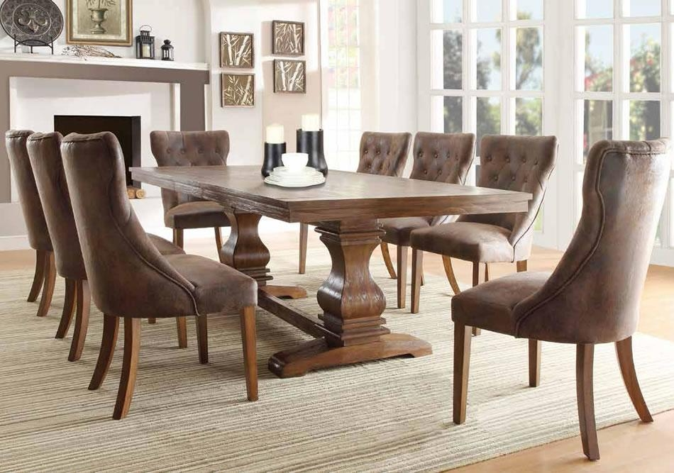 Furniture Stores Formal Dining Set In Chicago Fabric Dining Room Regarding Most Current Fabric Dining Room Chairs (Image 13 of 20)