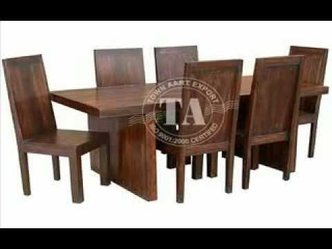 Furniture Wooden Dining Room Furniture Indian Furniture Throughout Indian Wood Dining Tables (Image 11 of 20)