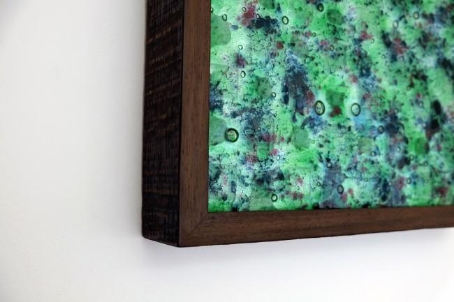 Fused Glass Wall Art Panels | Walls Love Art In Wall Light Box Art (Image 9 of 20)