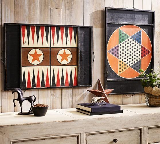 Game Board Wall Art | Pottery Barn For Board Game Wall Art (Image 11 of 20)