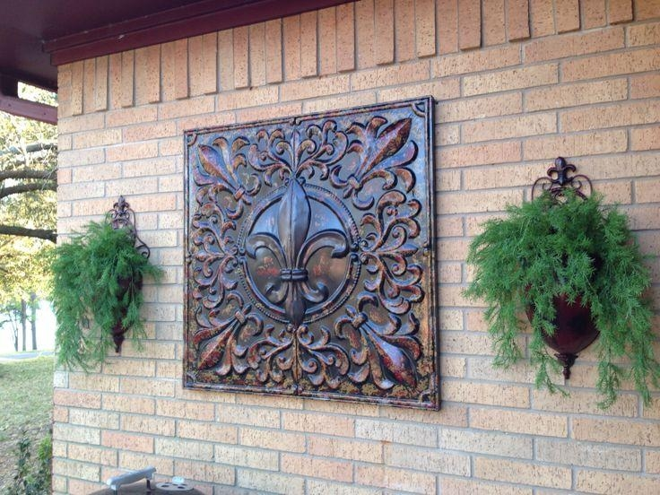 Garden Metal Wall Art Ideas | Eva Furniture Pertaining To Outdoor Metal Art For Walls (Image 12 of 20)