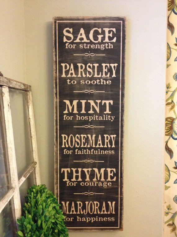 Get 20+ Kitchen Wall Sayings Ideas On Pinterest Without Signing Up Intended For Wooden Word Art For Walls (Image 15 of 20)