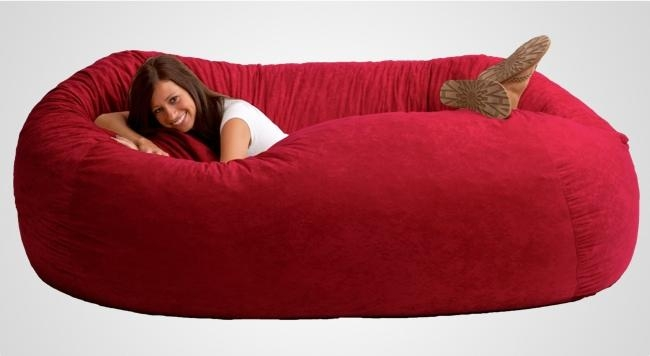 Giant Bean Bag Chairs I11 On Top Home Decor Inspirations With Inside Giant Bean Bag Chairs (Image 10 of 20)