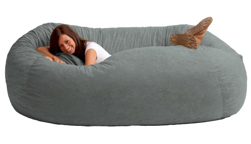 Giant Bean Bag Sofa | Dudeiwantthat For Giant Bean Bag Chairs (Image 13 of 20)
