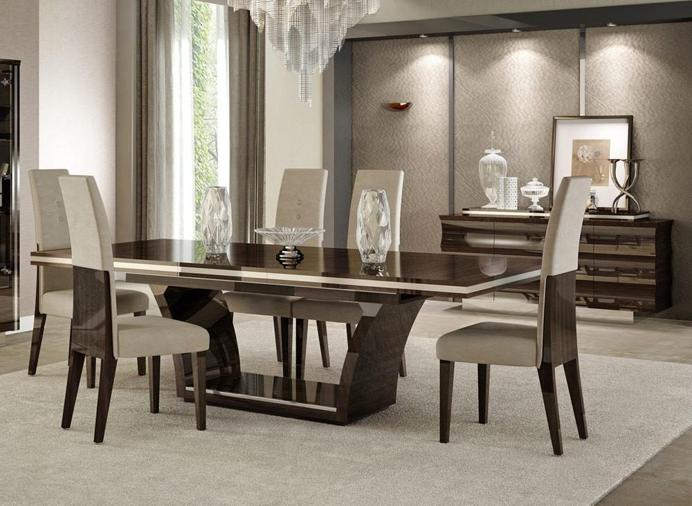 Giorgio Italian Modern Dining Table Set Throughout Most Up To Date Italian Dining Tables (Image 9 of 20)