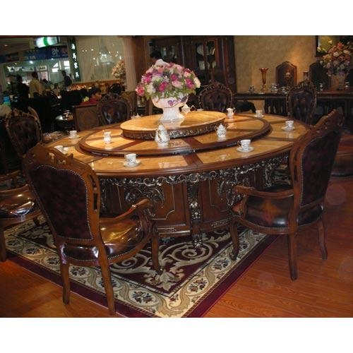 Glam Top Dining Table Set For Sale In Thane On English For Best And Newest Indian Dining Tables (View 12 of 20)
