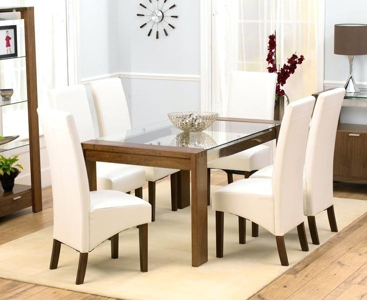 Glass Dining Table And 6 Chairs Sale – Zagons (Image 14 of 20)