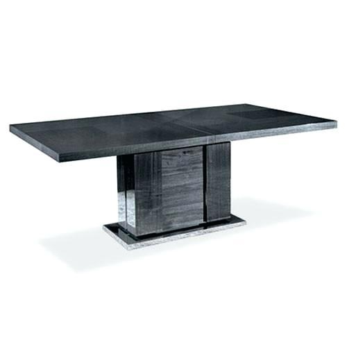 Gloss Black Dining Table – Mitventures (Image 14 of 20)