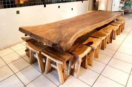 Good Solid Wood Dining Tables With Wood Dining Table Image Gallery Throughout Most Recently Released Solid Wood Dining Tables (Image 9 of 20)