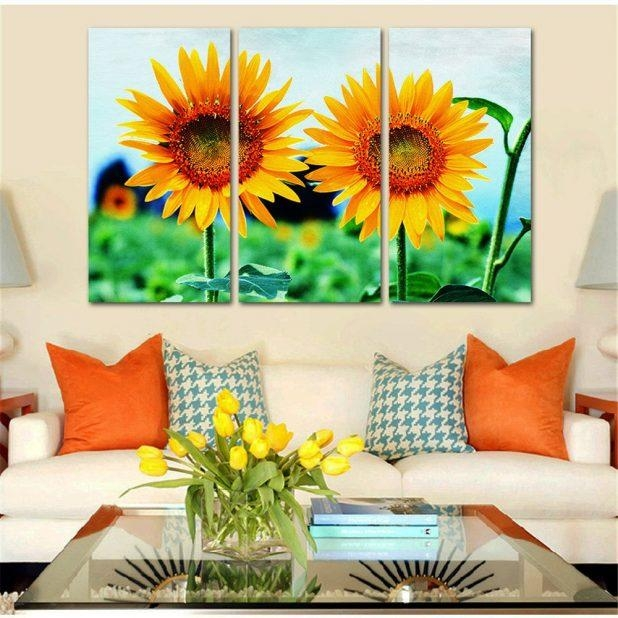 Gorgeous Outdoor Metal Sunflower Wall Art Beautiful Sunflower Regarding Metal Sunflower Wall Art (View 16 of 20)
