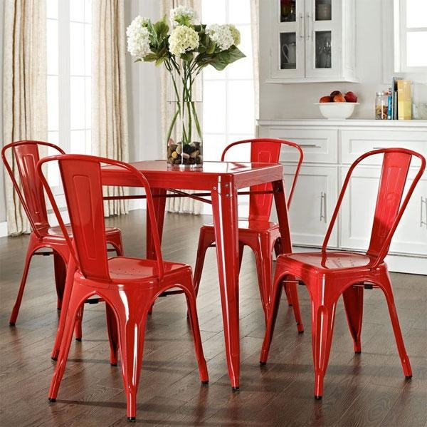 Featured Image of Red Dining Chairs
