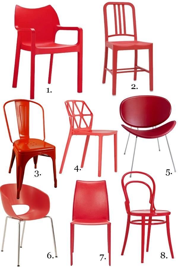Gorgeous Red Dining Chairs — Eatwell101 Intended For 2017 Red Dining Chairs (View 20 of 20)