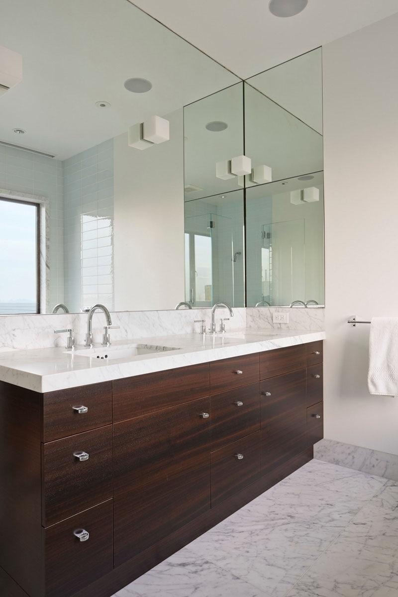 Graceful Bevelled Bathroom Mirrors : Good Bevelled Bathroom Pertaining To Bevelled Bathroom Mirrors (Image 12 of 20)