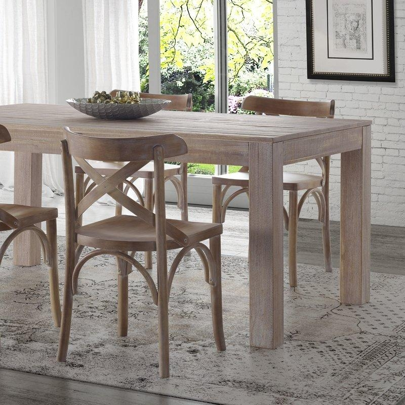Grain Wood Furniture Montauk Dining Table & Reviews | Wayfair Within 2018 Dining Tables (Image 14 of 20)