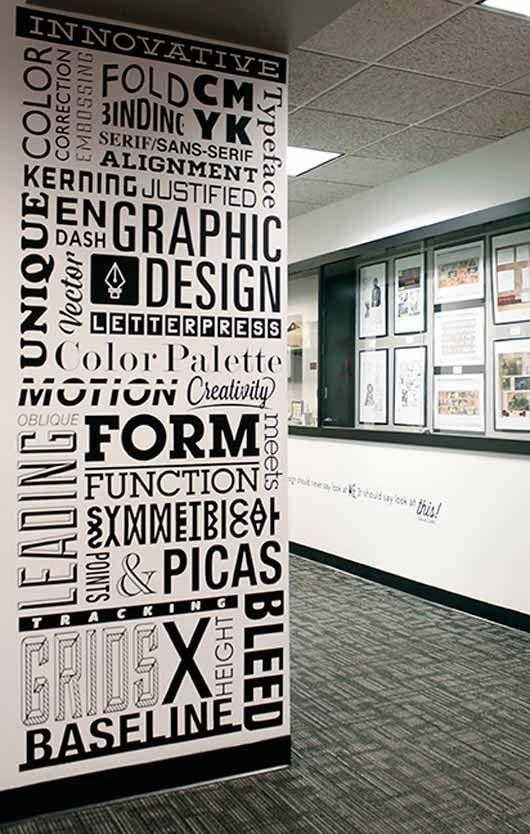 Graphic Design Wall Art Stunning Graphic Designer Office Space 2 Intended For Wall Art For Office Space (Image 8 of 20)