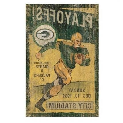 Green Bay Packers Vintage Wall Art: Shopko In Green Bay Packers Inside Green Bay Packers Wall Art (View 16 of 20)