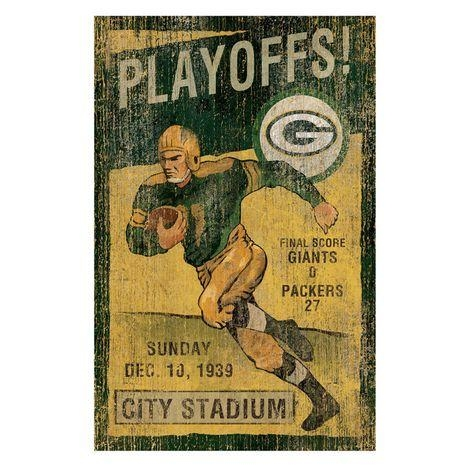 Green Bay Packers Vintage Wall Art: Shopko In Green Bay Packers Wall Art (View 5 of 20)